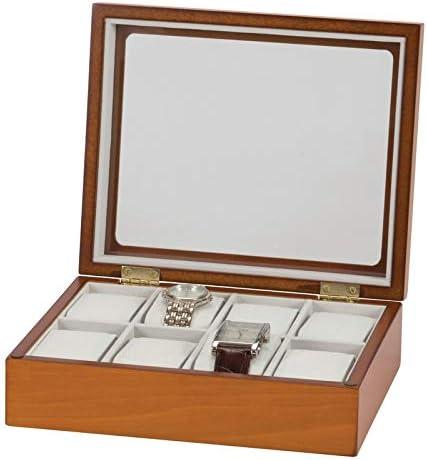 Mele & Co Owen - Caja expositora para Relojes (Madera): Amazon.es: Relojes