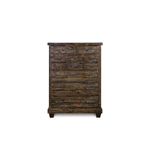 Magnussen B2524-10 Brenley Wood 5-Drawer Chest (Dresser 10 Drawer Rustic)