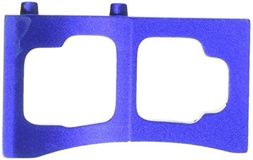 Redcat Racing Aluminum Servo Mount (2 Piece), Blue (Servo Mounts Blue Aluminum)