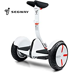 Segway miniPRO Smart Self Balancing Personal Transporter with Mobile App Control, White
