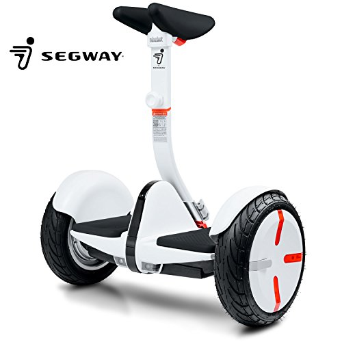 Segway miniPRO Smart Self Balancing Personal Transporter with Mobile App Control, White made in New Hampshire