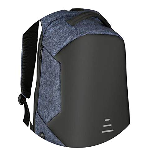 pursuit-of-self15.6 Laptop Backpack Anti Theft Backpack USB Charging Notebook Bag,Blue,Russian Federation