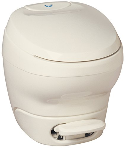 Aqua-Magic Bravura RV Toilet  / High Profile / Parchment - Thetford (Thetford Portable Toilets)