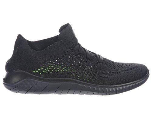 Chaussures De Course 2018 En Nylon Nike Flyknit 2018 Course Noir   Anthracite 4adb20
