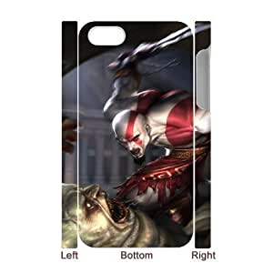 Back Skin Case Shell iphone4 4S 3D Cell Phone Case White art bog vojny god of war fentezi igry Vaymn Pattern Hard Case Cover