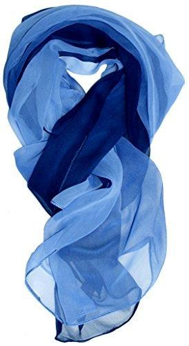 Ombre Silk Dress - 1