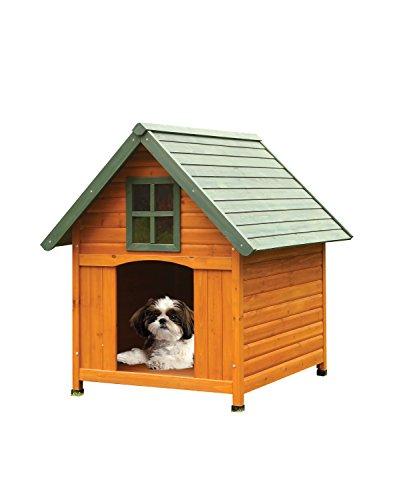 ACME 98202 Wade Pet House, Honey Oak/Green (Honey Oak House)