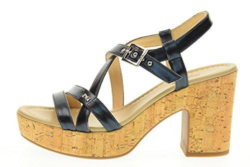 NERO GIARDINI zapatos de las sandalias P717671D / 201 Azul