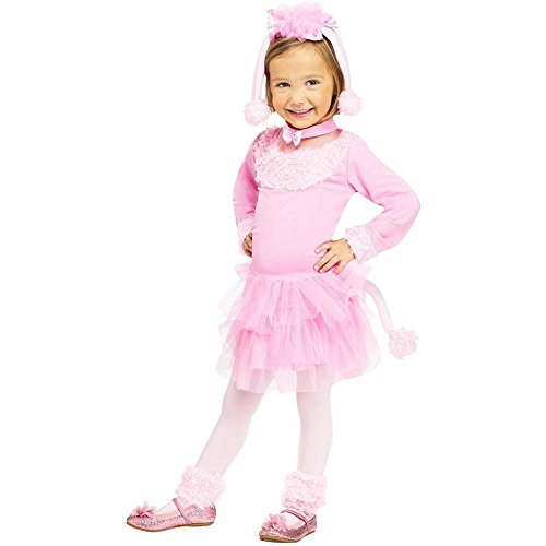 Fun World Pretty Poodle Toddler Costume (24mos 2T) -