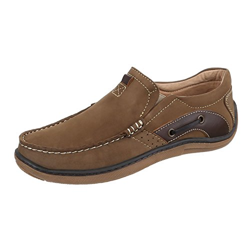 Shoes Men's Brown Camel Ital Design gwESqwn5T