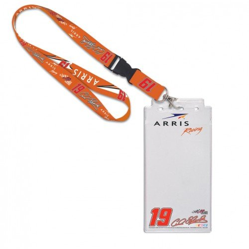Carl Edwards #19 Credential Holder with Lanyard, #25310015 (Carl Edwards Best Tracks)