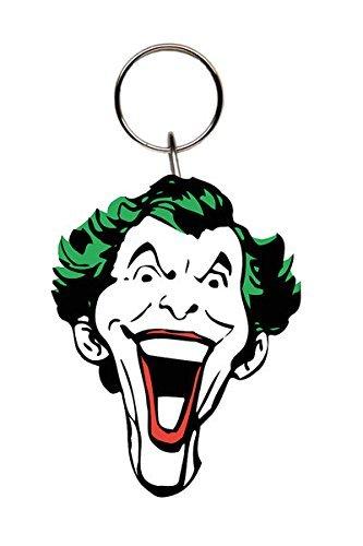 Amazon.com: Batman – Goma Llavero/llavero (El Joker/cara ...