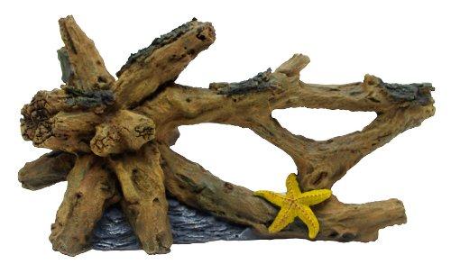 Marina Driftwood Starfish Betta Aquarium Decor, Large by Marina