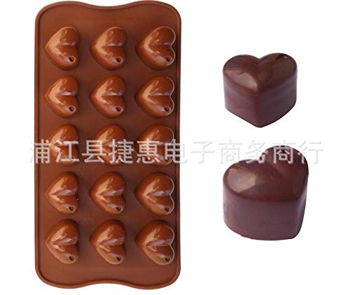 Kojic Acid Soap Whitening - Silicone Cake Mold 15 Love Chocolate Ice Lattice Hand Soap Baking - Mold Tennis Duck Rabbit European Umbrella Statue Tiki Animals Ring Hard Happy Decorations Tape Cir