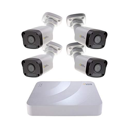 Presidio K82K2 4 8-CH 5MP 2TB IP Security System 4 Camera