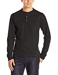 Men's Long-Sleeve Beefy Henley T-Shirt