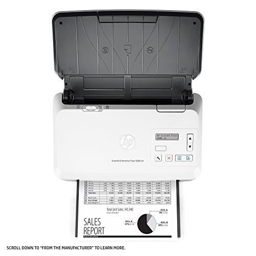 HP ScanJet Enterprise Flow 5000 s4 Sheet-feed OCR Scanner by HP (Image #10)