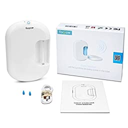 forpow uv toilet sterilizer, uv clean, air deodorizer, germs&bacteria and allergy killer,rechargeable auto shut OFF, top rated sterilization air cleaner,healthy home guardian