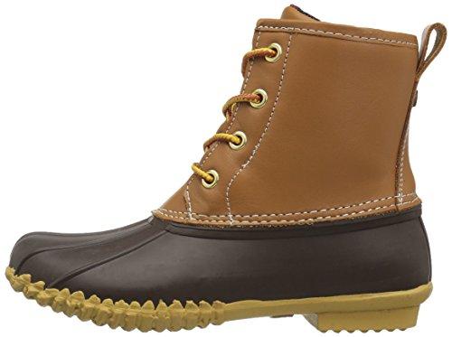 206 Collective Women's Rainier Duck Boot Rain Tan/Navy