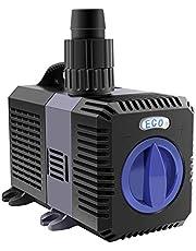 everfarel 3000L/H Super ECO Vijerpomp Zwembadpompen Beeklooppomp voor Vijver Aquariumpomp Filterpomp Dompelpomp EU-stekker