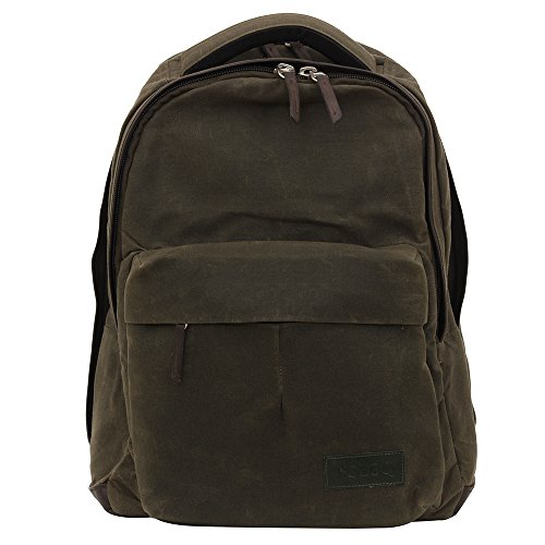 Rimo Casual Best Selling Laptop Backpack for Men & Women college girls boys fits 17 inch Canvas & Vegan Leather 20 Ltr Top Selling Travel backpack Office Outdoor Weekends Airline carry-on size (Bag Weekend Recycled)