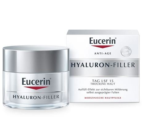 (Eucerin Hyaluron Filler Anti-aging Anti-wrinkle Day Cream 50ml by Eucerin)