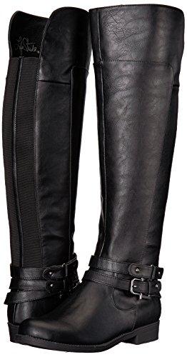 LifeStride Women's Delilah Equestrian Boot, Black, 7.5 M US by LifeStride (Image #6)