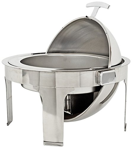 Buffet Enhancements 010YC6 Round Classic Empire Style Chafing Dish, 6.9 quart, Stainless Steel by Buffet Enhancements