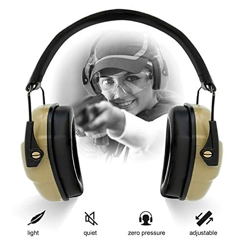 Best Noise Cancelling Headphone For Shooting Range - ucho Ear Hearing Protection for Shooting,