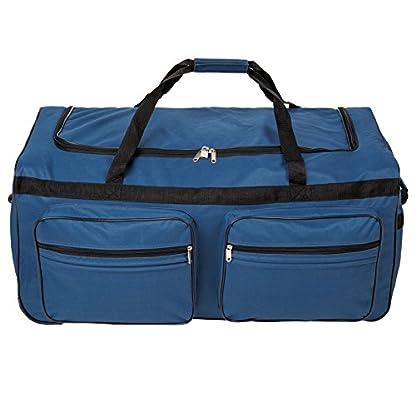 TecTake XXL Bolsa de viaje deportes maleta trolley grande 160L | con ruedas | asa telescópica | disponible en diferentes colores