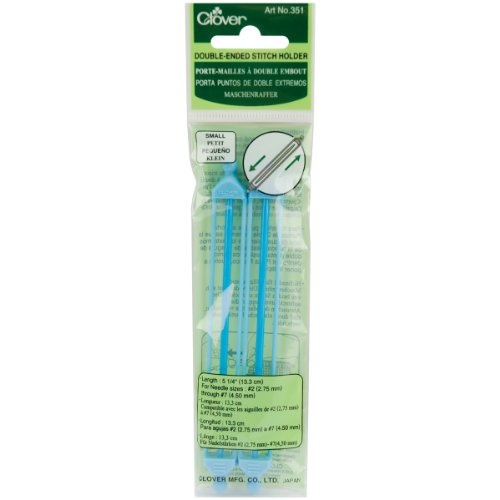 Clover Double Ended Stitch Holder - Clover Double Ended Stich Holder, Small