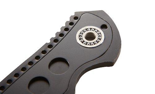 CRKT Ripple EDC Folding Pocket Knife: Gentleman Everyday Carry, Satin Blade, IKBS Ball Bearing Pivot, Locking Liner, Textured Aluminum Handle, Pocket Clip K415KXP by Columbia River Knife & Tool (Image #6)