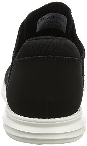 Uomo Ginnastica Knitted Basse Black Nero Pepe da West Jeans Scarpe 0qZwWR4xf