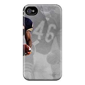 Durable Chicago Bears Back Case/cover For Iphone 4/4s