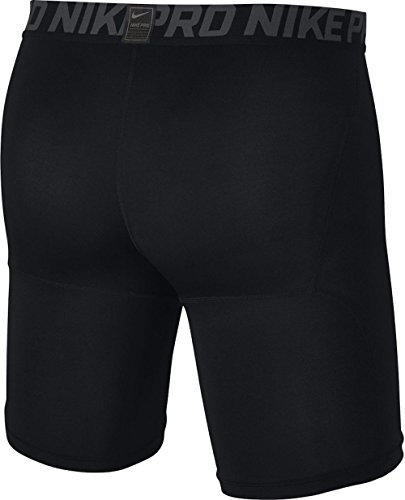 Nike Pro Mens 6'' Training Shorts,Black/Anthracite/White,Large by Nike (Image #3)
