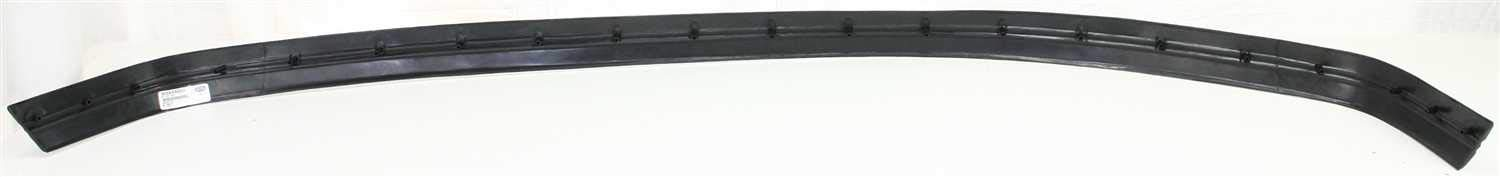 Garage-Pro Front Bumper Trim for FORD F-SERIES 1992-1996 Plastic Black