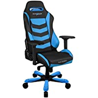 DXRacer OH/IS166/NB Blue & Black Iron Series Gaming Chair