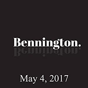 Bennington, Brad Steiner, Rich Vos, and Rory Albanese, May 4, 2017 Radio/TV Program