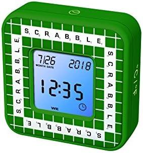SCRABBLE RL300SC Temporizador Electrónico, función Reloj (Lexibook, Color Verde: Amazon.es: Juguetes y juegos