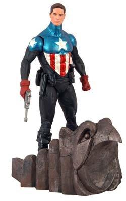 Disney Marvel Select Captain America Action Figure -- 7'' H