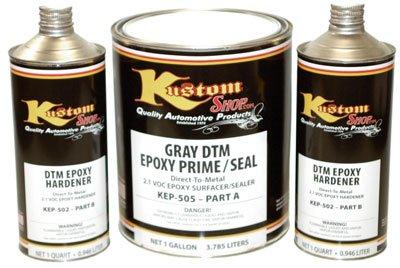 1 Gallon Kit Of Gray Dtm Direct To Metal Epoxy Primer Surfacer Sealer