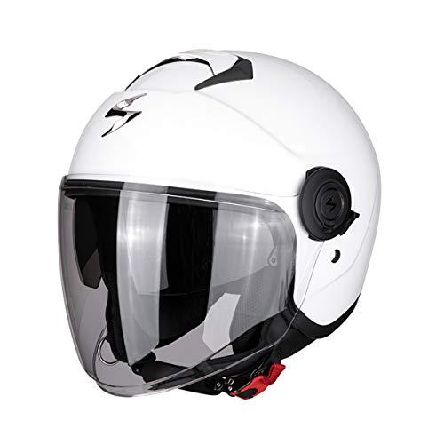 Scorpion 83-100-05 Motorradhelm, Weiß