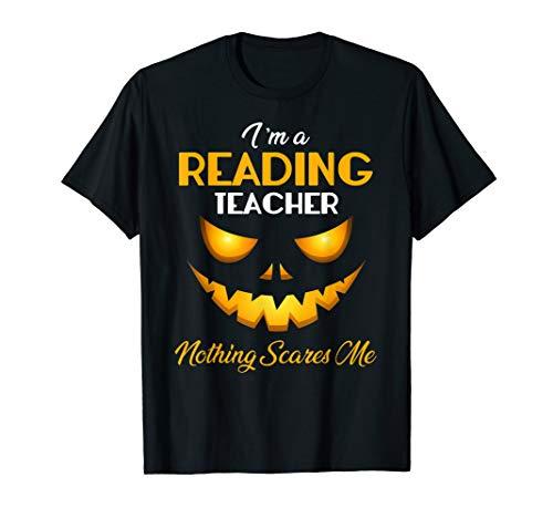 Halloween Reading Worksheets Kindergarten - Halloween Reading Teacher Nothing Scares Me