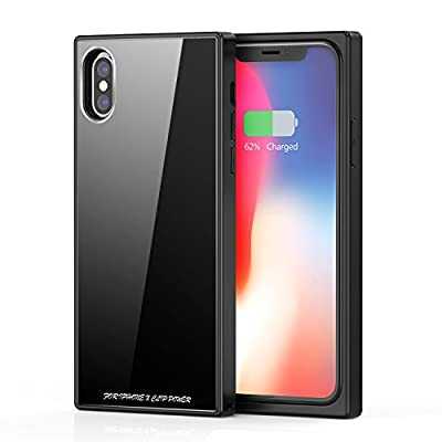 iPhone X Battery Case, Vodool 3200mAh Capacity Ultra Slim Extended Battery Rechargeable Protective Backup Portable Charger 5.8""
