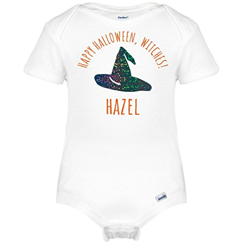 FUNNYSHIRTS.ORG Happy Halloween Witches Hazel: Infant Gerber (Funny Halloween Jokes For Trick Or Treating)