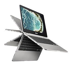 Asus C302CA-DHM4 12.5-inch Chromebook (Intel Core M3/4 GB/64 GB), Silver
