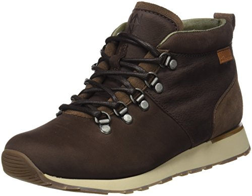 El Damen Braun Kurzschaft Suede Lux Walky Stiefel Pleasant Naturalista Brown Nd62 AfqwSR