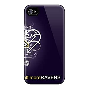 Anti-Scratch Hard Cell-phone Case For Iphone 6 With Allow Personal Design High-definition Baltimore Ravens Skin KevinCormack
