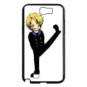 Samsung Galaxy Note 2 Black phone case One piece Sanji ONP5100939