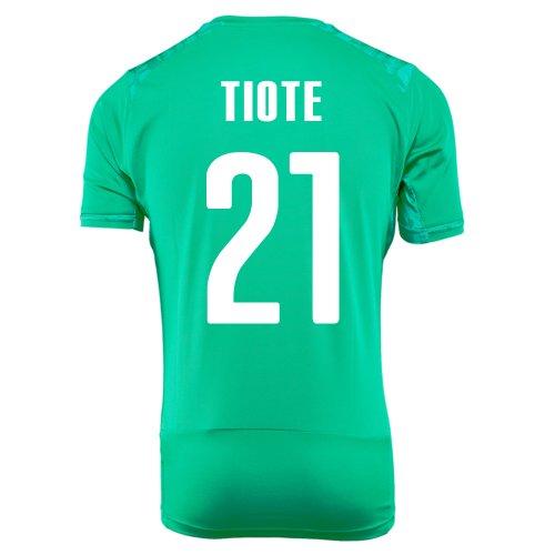 証言するハブ破産PUMA TIOTE #21 IVORY COAST AWAY JERSEY WORLD CUP 2014/サッカーユニフォーム コートジボワール アウェイ用 ワールドカップ2014 背番号21 ティオテ